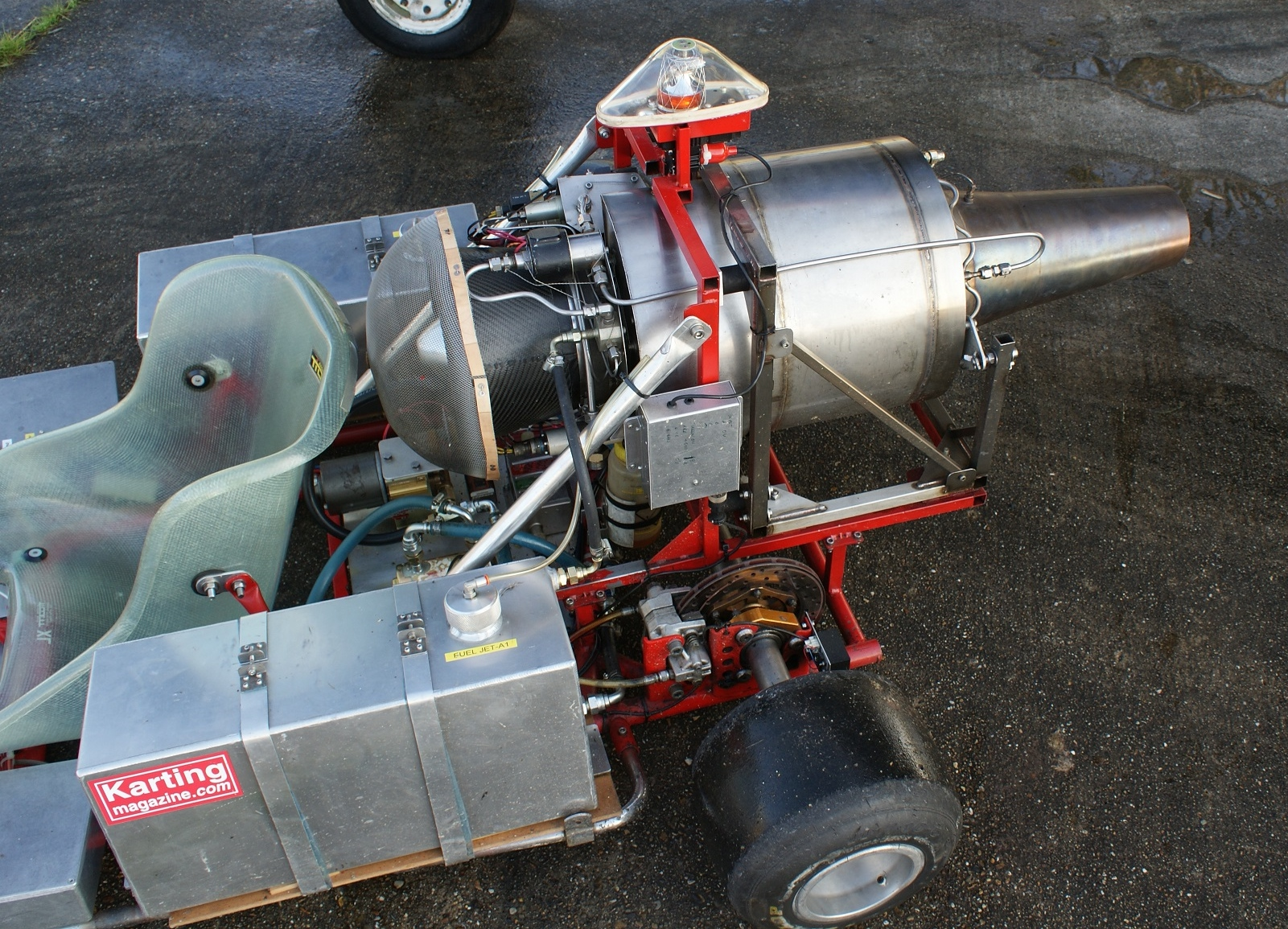 Close Up View Showing NPT 301 Power Unit