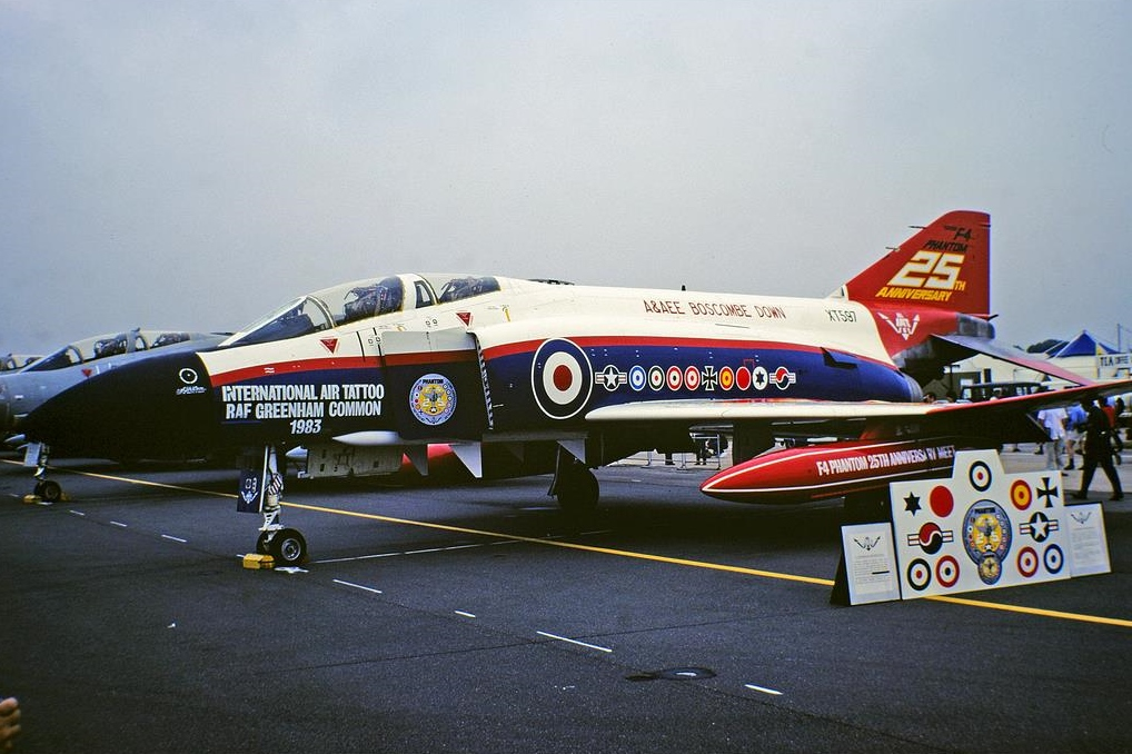 In Service Photo When Painted In Special 25th Anniversary Markings