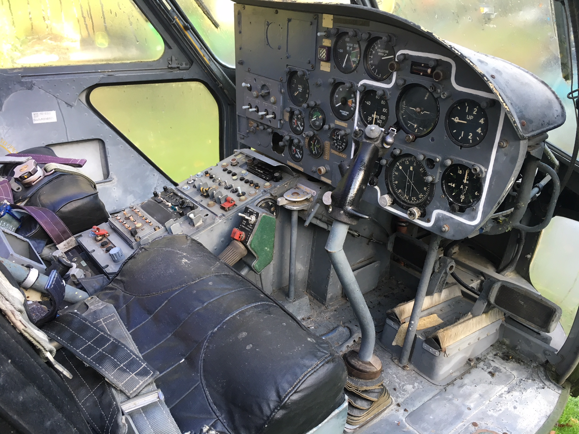 WESTLAND SCOUT INSTRUMENT PANEL