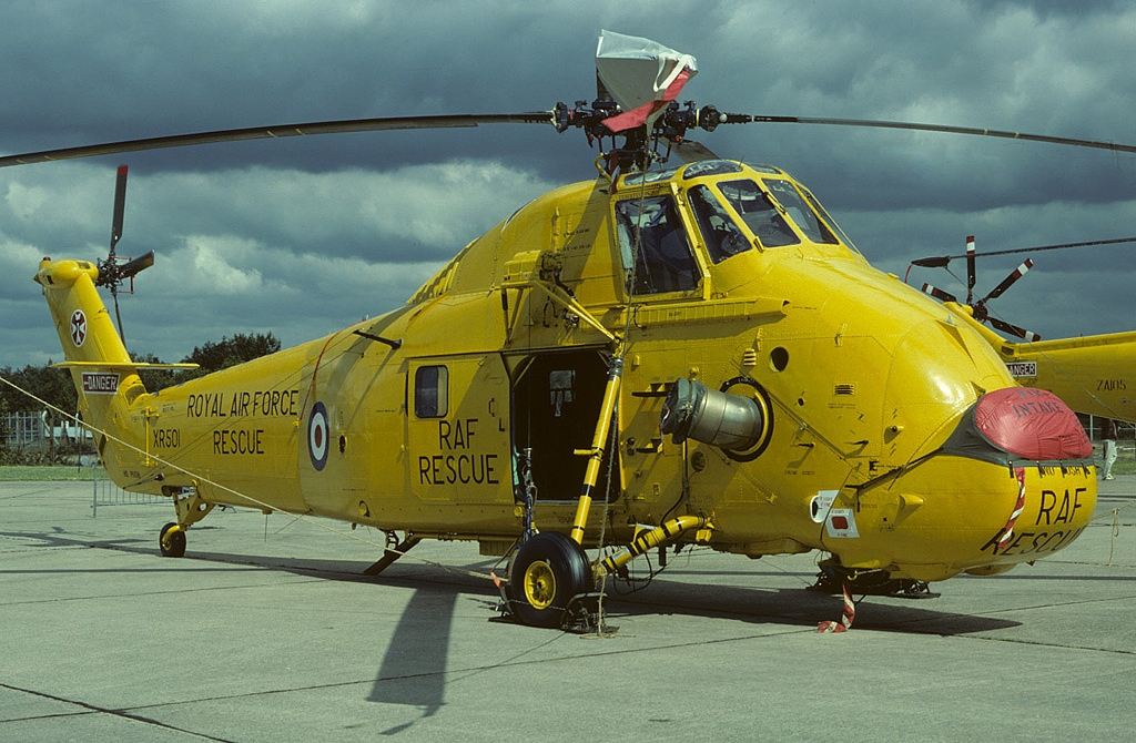 In Service Picture Of Actual Helicopter Shown