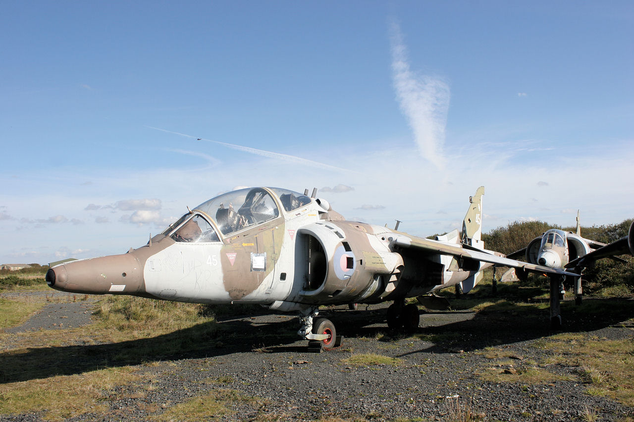 Harrier T4 XZ145 When Purchased